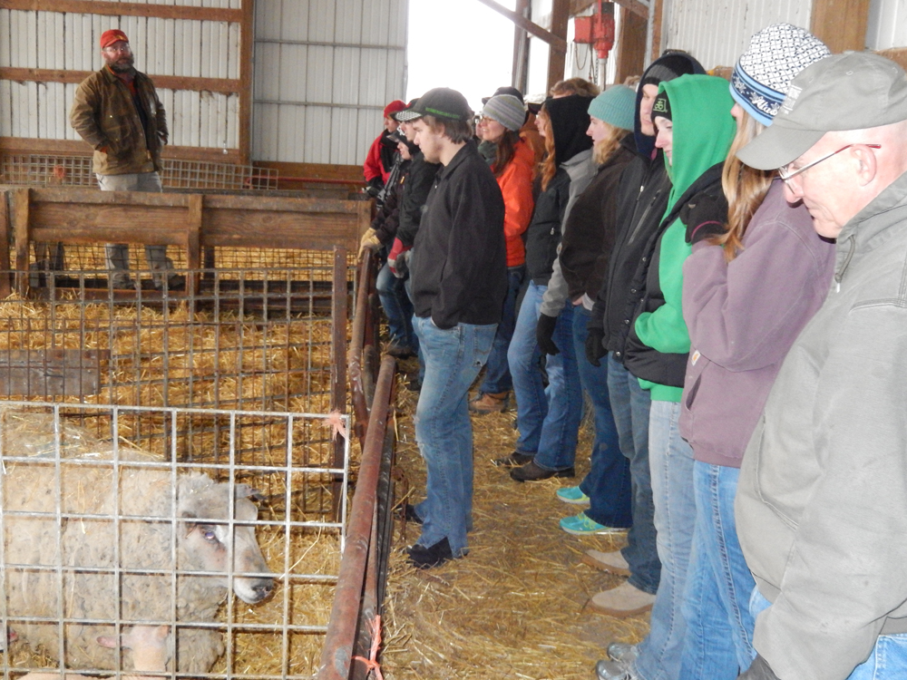Wisconsin School for Beginning Dairy and Livestock Farmers Winter Field Trip