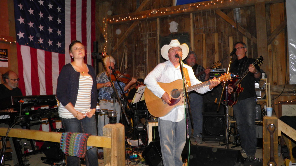 Buffalo Stomp performing at the 2014 Barn Dance
